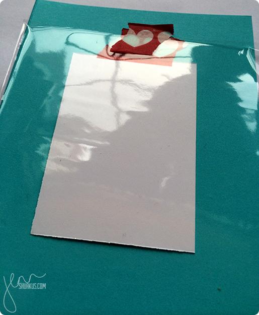 Decorative Love Frame, step 2   shurkus.com