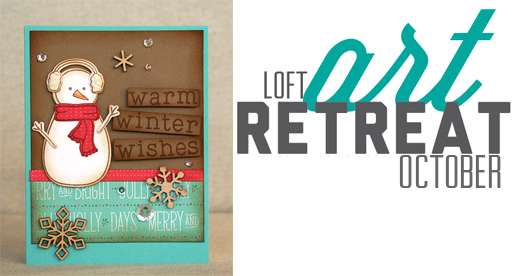 October Loft Art Retreat | shurkus.com