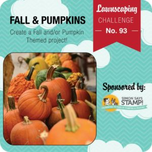 Lawnscaping Challenge #93: Fall/Pumpkins
