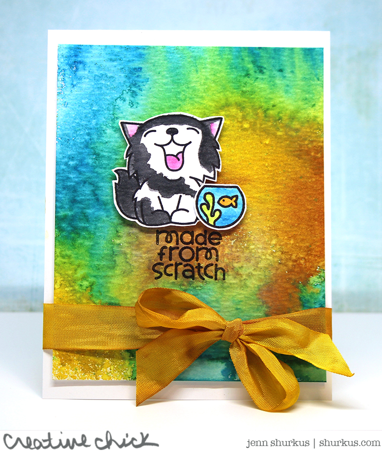 Simon Says Stamp Wednesday Challenge: Animal Magic featuring Paper Smooches | shurkus.com