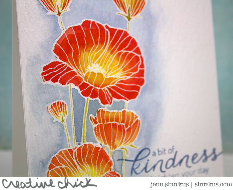 Simon Says Stamp Wednesday Challenge: Fabulous Florals featuring Hero Arts | shurkus.com