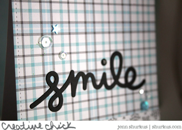 Custom Envelope, Smile Greeting
