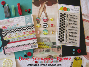 Paper Made Bakery- One Scrappy Dame Kit