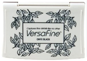 Tsukineko Versafine Onyx Black Ink Pad Vf-82