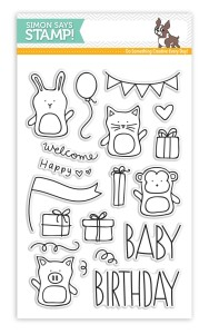 Baby Party Animals, Simon Says Stamp