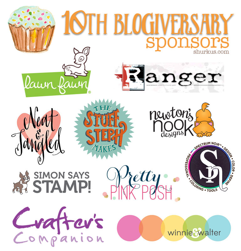{creative chick} 10th Blogiversary Sponsors | shurkus.com