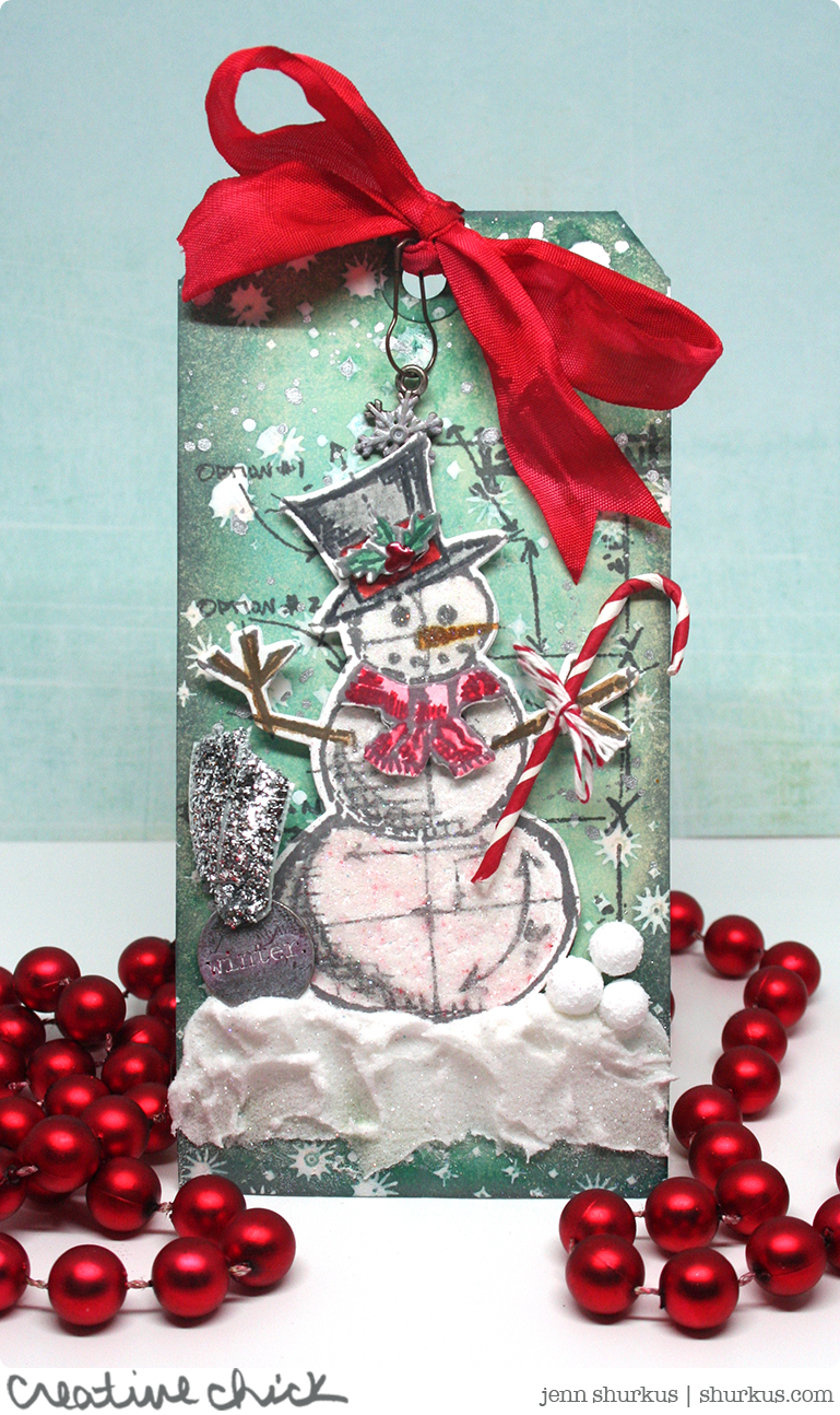 Simon Says Stamp Wednesday Challenge: Tag It featuring Tim Holtz | shurkus.com