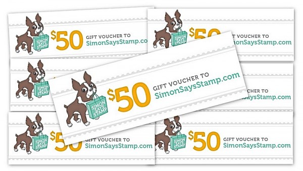 Simon Says Stamp, 7th birthday gift certificate giveaway!!!