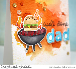 Let's BBQ for Dad, featuring Lawn Fawn   shurkus.com