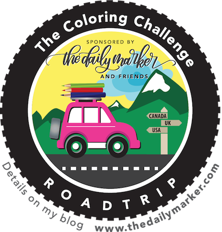 The Coloring Challenge Road Trip