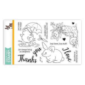 Showers and Flowers, Simon Says Stamp