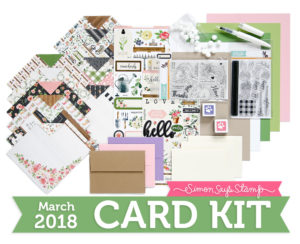 Choose Joy, March Card Kit | simonsaysstamp.com