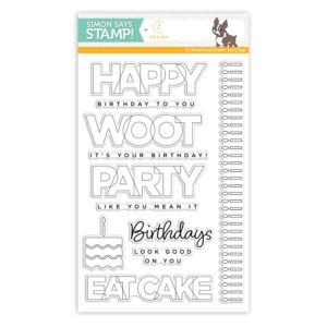 Birthday Palooza, CZ Designs/ Simon Says Stamp