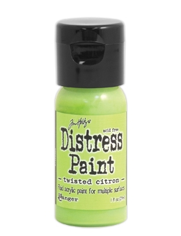 Tim Holtz Distress Paint, Twisted Citron
