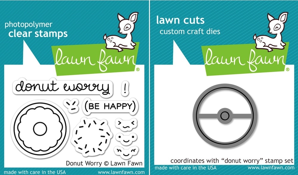 Lawn Fawn, Donut Worry