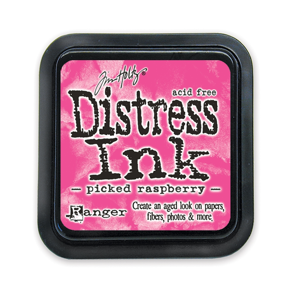 Tim Holtz, Picked Raspberry Distress Ink