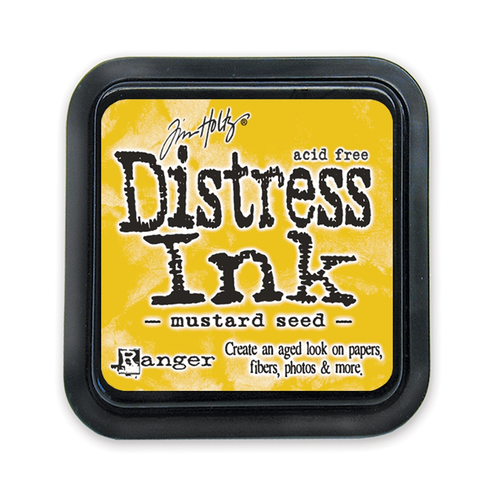 Tim Holtz Distress Ink Pad Mustard Seed