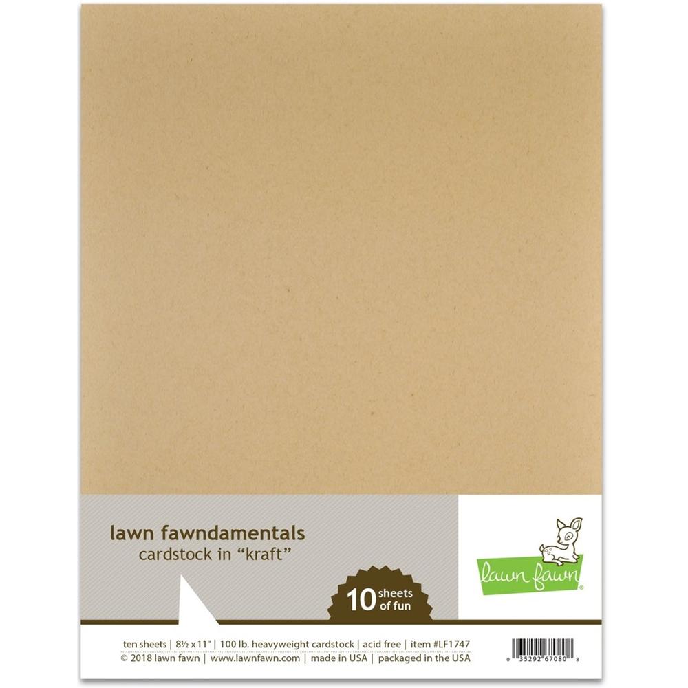 Lawn Fawn, Kraft Cardstock