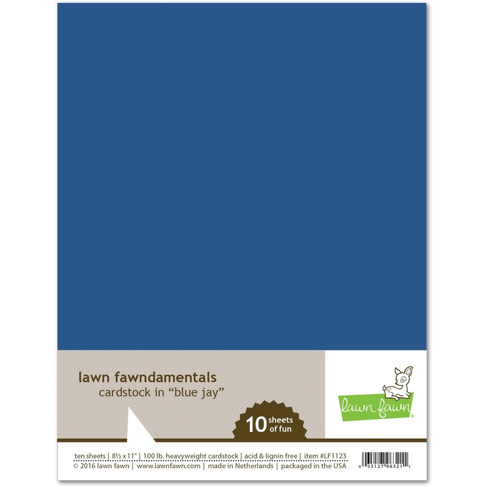 Lawn Fawn, Blue Jay Cardstock