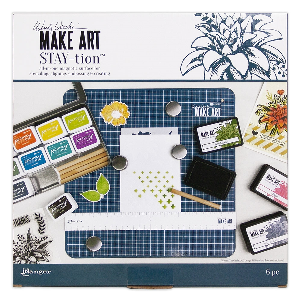 Wendy Vecchi, Make Art Stay-tion