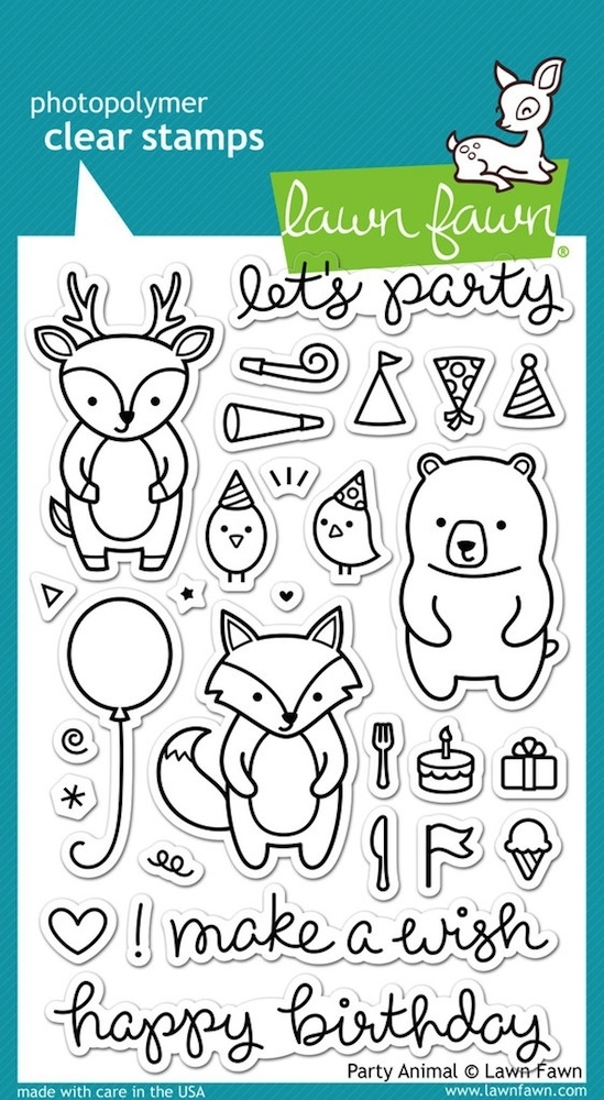 Lawn Fawn, Party Animals