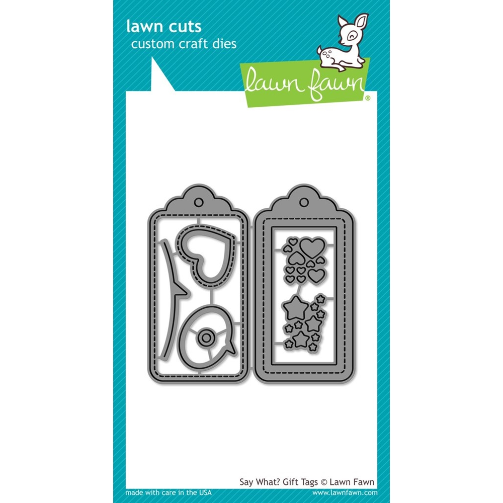 Lawn Fawn, Say What? Gift Tags