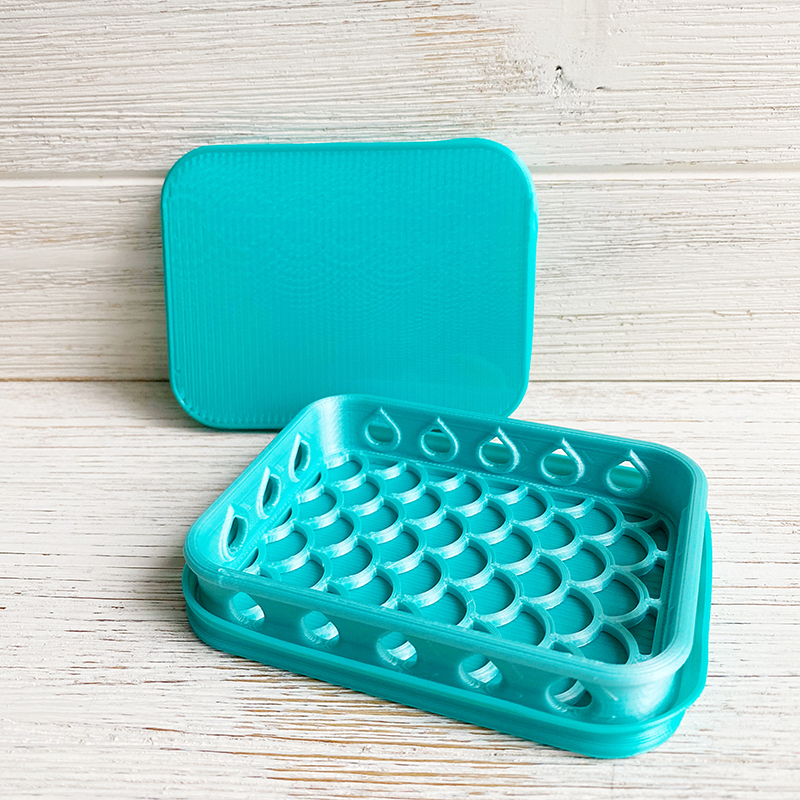 Mermaid Mint Shammy Case