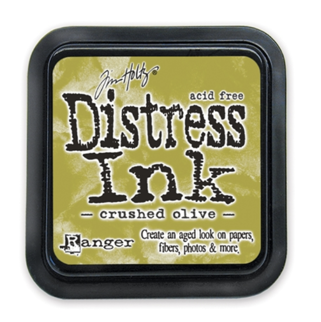 Tim Holtz, Crushed Olive Distress Ink