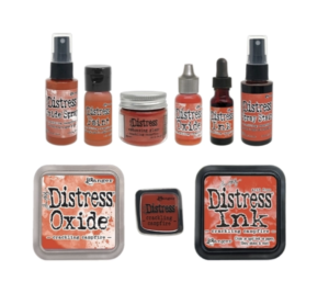 Tim Holtz, Crackling Campfire Distress Products