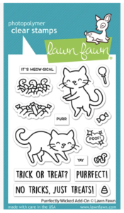 Lawn Fawn, Purrfectly Wicked Add On