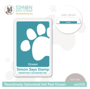 Simon Says Stamp, Pawsitively Saturated Ink Pad Ocean