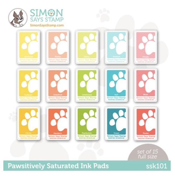 Simon Says Stamp Pawsitively Saturated Ink Pads
